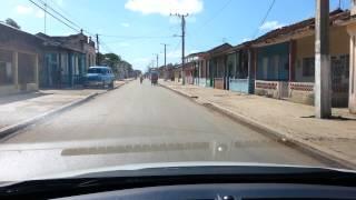 San Nicolas Cuba, Paso por la Calle Real