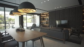 Interior Design  |  A Modern Resort Vacation Home In Sentosa Cove
