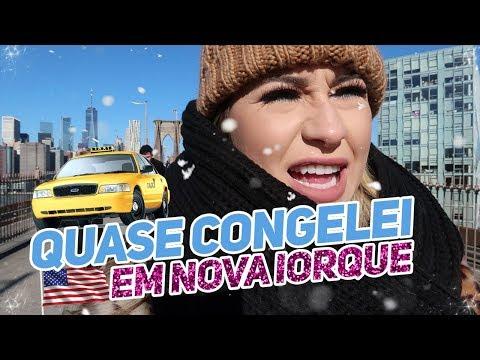 VLOGÃO DE NOVA YORK: muita neve, compras e blogueiras