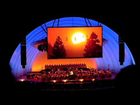 ENTIRE Last Reel of E.T. - John Williams @ the Hollywood Bowl (live)