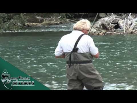 Jimmy houston fly fishing the pitt river youtube for Fly fishing houston