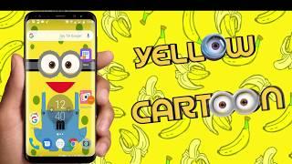 Yellow Minions Cute Cartoon Keyboard
