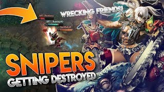 SNIPERS GETTING DESTROYED!! Vainglory [5v5] Ranked - Rona |WP| Top Lane Gameplay