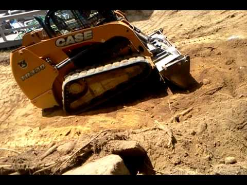 Excavating cape cod case tr320 youtube for Case modello cape cod