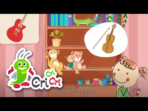O vioara mica | CriCriCri #cantecepentrucopii – Cantece pentru copii in limba romana