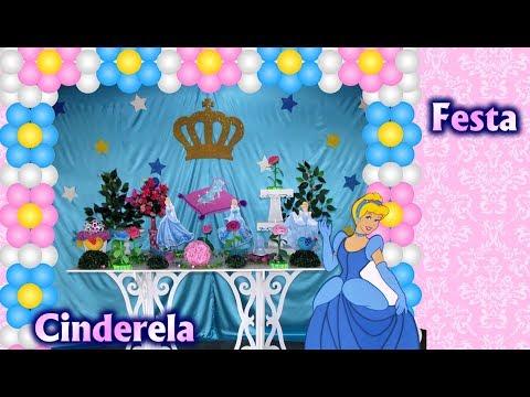 Party Decoration Theme Cinderela Princess Disney - Children's Birthday / Party Kids / Ideas