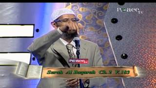 QUR'AN AND MODERN SCIENCE - COMPATIBLE OR INCOMPATIBLE? | QUESTION & ANSWER | DR ZAKIR NAIK