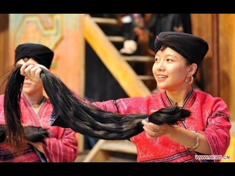 Huangluo – The World's First Long hair Village