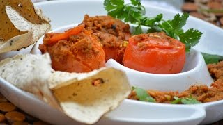 Stuffed Tomatoes With Cottage Cheese By Flavour Basket