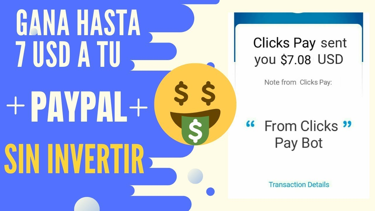 bot para ganar dinero paypal telegram marketing btc