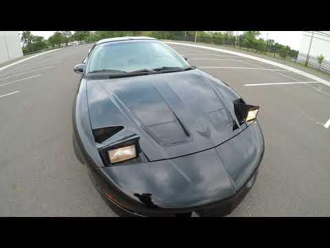 4K Review For 1997 Pontiac Firebird Formula 5.7L V8 Virtual Test-Drive & Walk-around