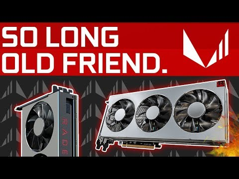 Radeon VII DISCONTINUED 5 Months After Release! AMD Fixes its Naming Scheme..