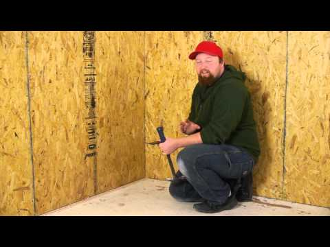 How to Remove Vinyl Asbestos Tiles & Nailed Tack Strips : Flooring Repairs