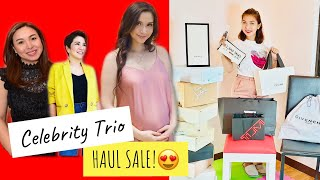 Mariel Padilla, Marjorie Barretto and Tyang Amy Perez Bags and Shoes ( Celebrity Haul Sale)