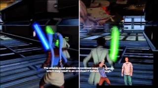 Kinect Star Wars - Gameplay