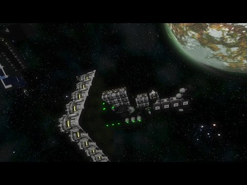 Space Engineers | Refining on a Mining Ship