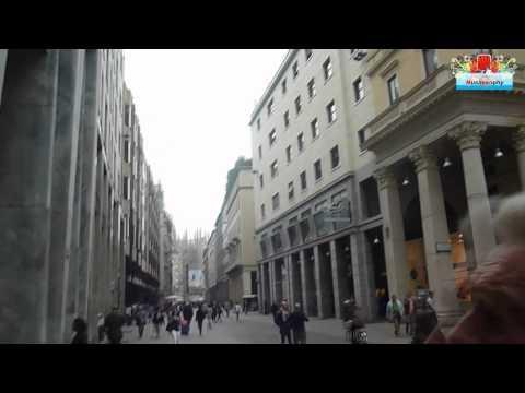 Negozi - Portici e Gallerie del Centro di Milano : video