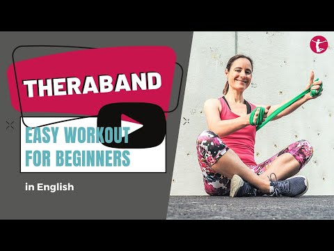 30 min Theraband Workout for Beginners