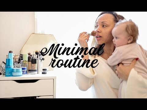 MINIMAL MORNING ROUTINE | Samantha Maria