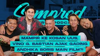 SEMPROD: VINO G. BASTIAN AJAK GADING ANDHIKA BORIS MAIN FILM WIRO SABLENG?! UUS CASTING DI KOSAN!!!