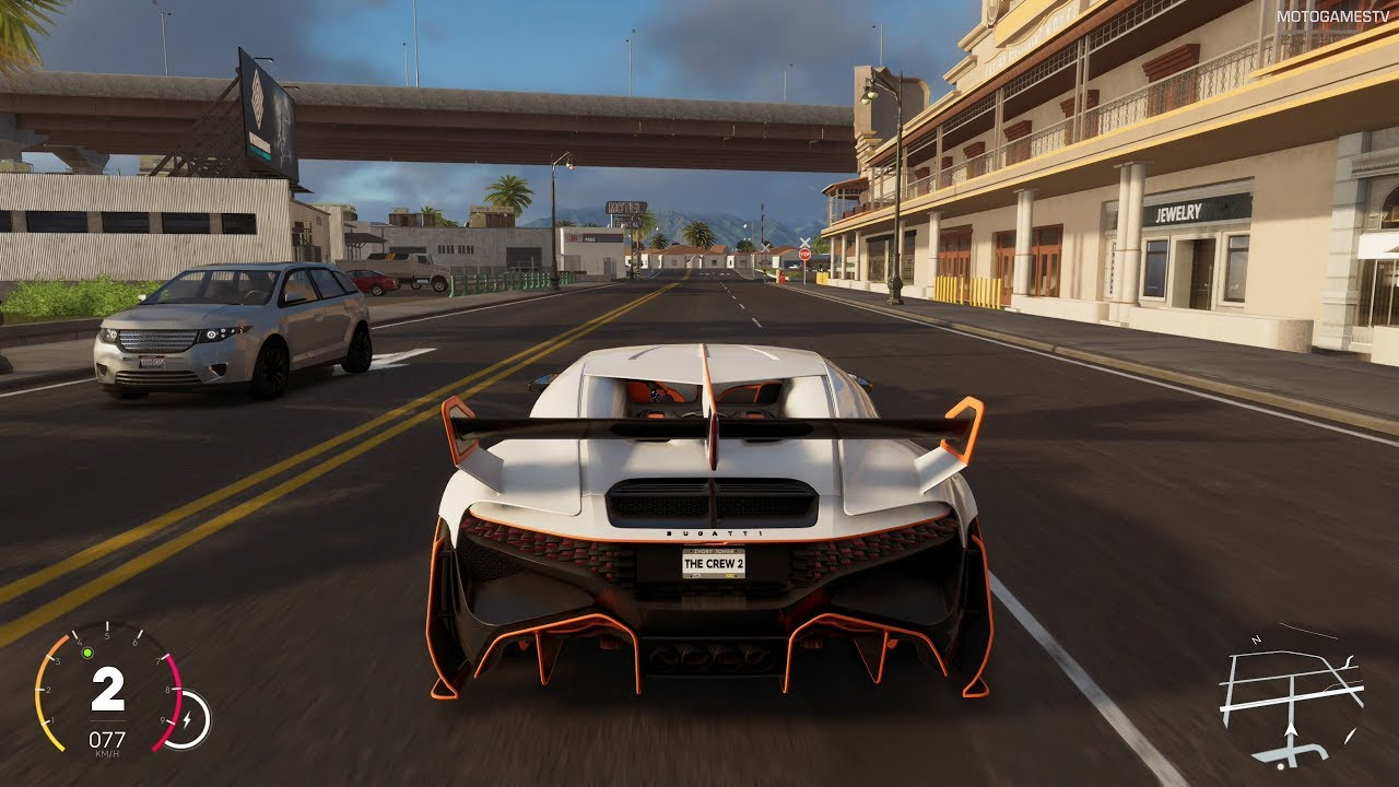 The Crew 2 - 2019 Bugatti Divo Magma Edition Gameplay (Live Summit Reward)  [4K]