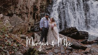 Mike & Morgan - Hidden Waterfall Elopement at Kilgore Falls in Harford County, MD