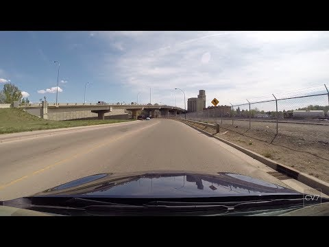 Highway 41A, Medicine Hat AB (Time Lapse)