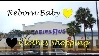 Babies R Us After Christmas Clothes Shopping Trip With Reborn Baby Harper!