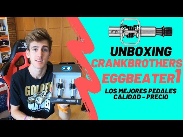 Crank Brothers Eggbeater 1 (Unboxing en español de los mejores pedales para mtb)! 🔥🔥
