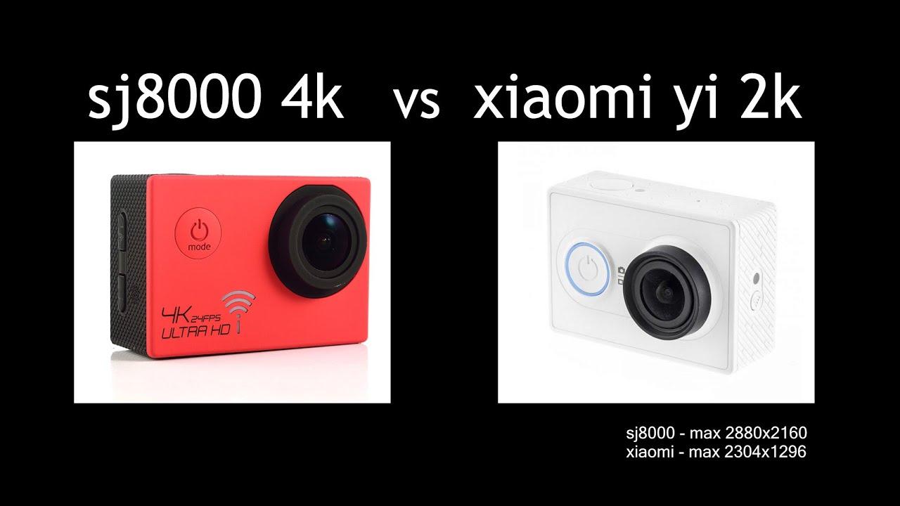 sj8000 4k 2880x2160 vs xiaomi yi 2k 2304x1296 test. Black Bedroom Furniture Sets. Home Design Ideas