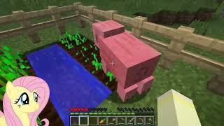 BREAADD!! [Fluttershy Plays: Minecraft Episode 2]