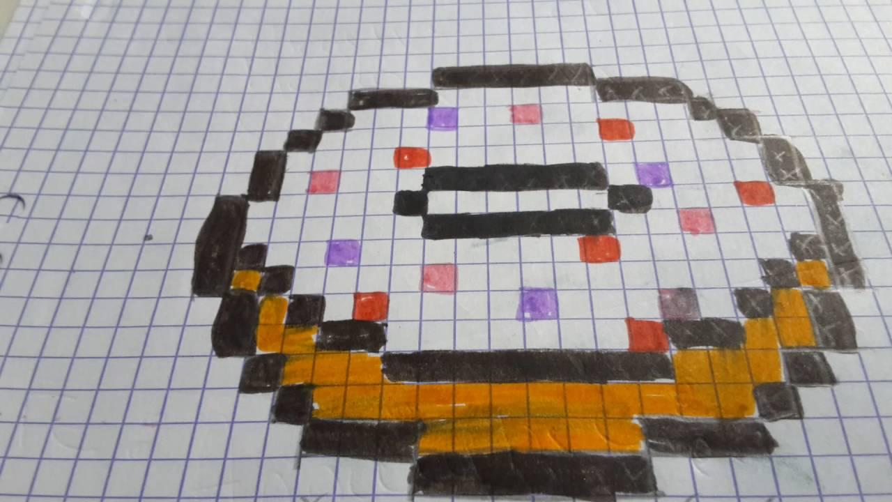 Donut En Pixel Art