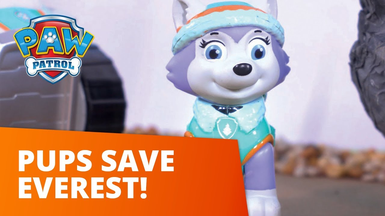 paw patrol pups save everest toy episode