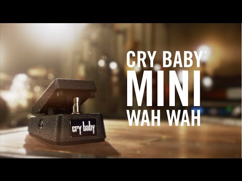 Meet The Cry Baby® Mini Wah