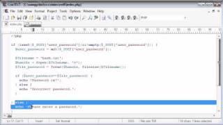 Beginner PHP Tutorial - 97 - MD5 Encryption Part 2