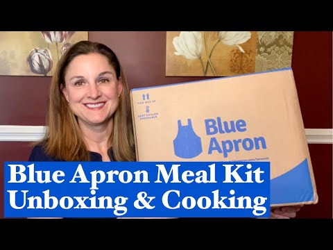 Blue Apron Meal Kit Review - Blue Apron Unboxing and Cooking