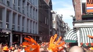 Koninginnedag 2012- Leidseplein