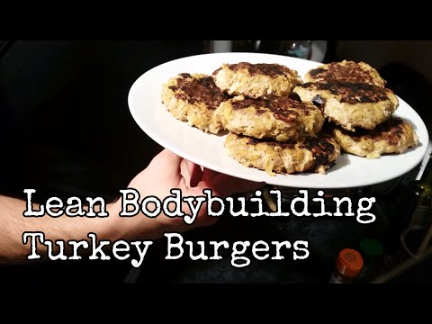 Lean Bodybuilding Turkey Burgers On The George Foreman Grill | Slice Of Fit
