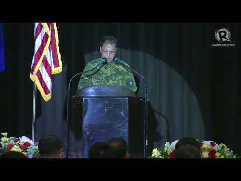 Balikatan 2018 speech: AFP chief General Carlito Galvez Jr