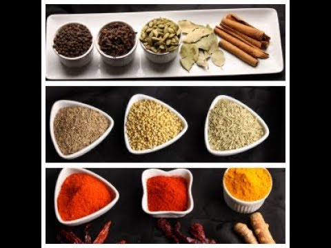 Spices For Indian Cooking- Indian Spices 101