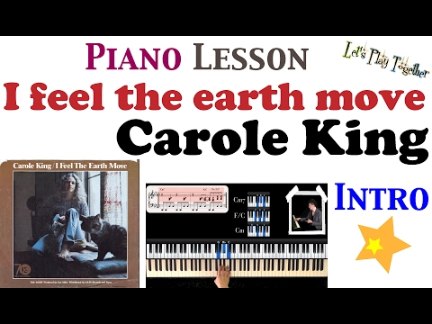 How To Play I Feel The Earth Move Intro Piano Tutorial Lesson