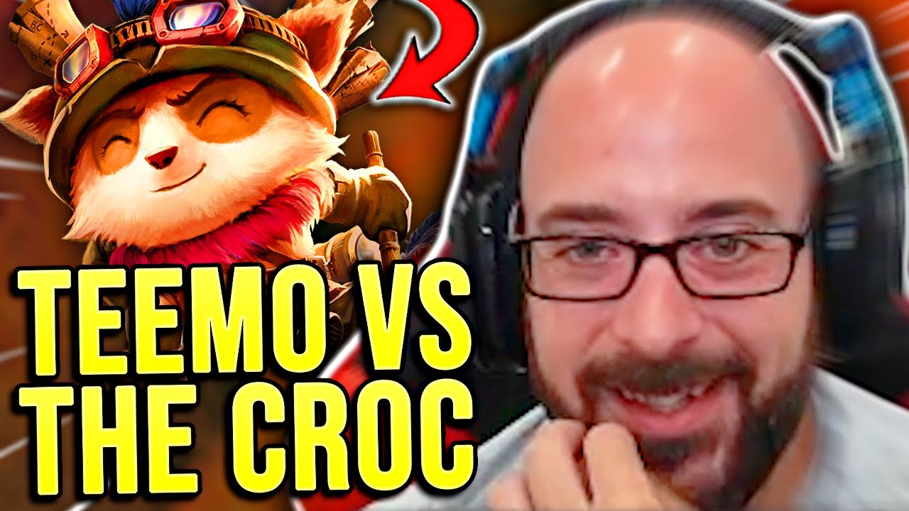 THIS TEEMO THOUGHT HE COULD TAKE ON THE CROC?! - SRO Road to Challenger