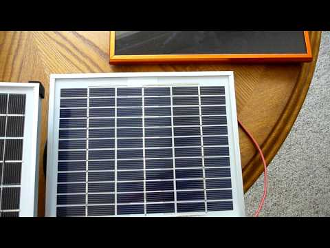Portable Solar Power Pack and PV Review – Part 1