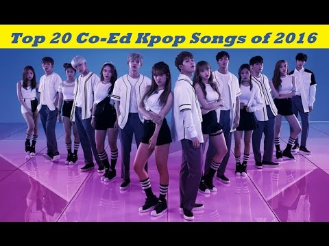 Top 20 Co-Ed Group/Collaboration Kpop Songs of 2016