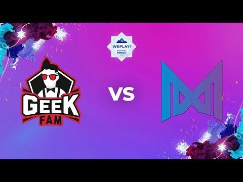 Geek Fam vs Nigma vod