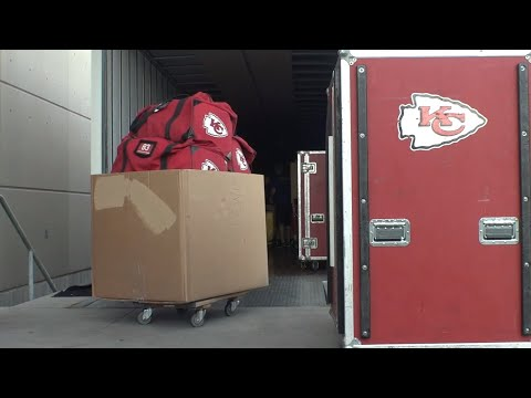 Kansas City Chiefs Load Equipment, Head To St. Joseph For Training Camp