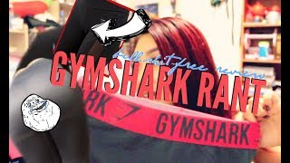 HONESTLY DONE WITH GYMSHARK | Flex, Fit, Seamless Collection Rant