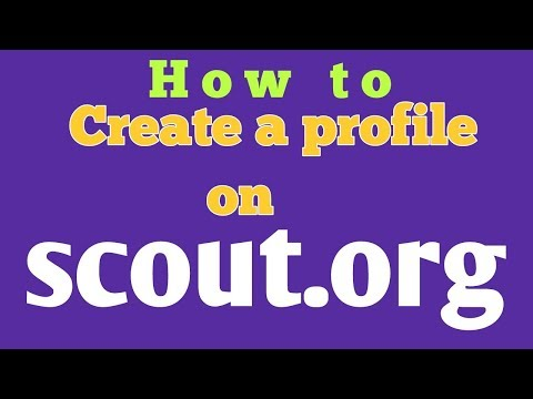 Open Account On Scout.org / HOw To Create Scout.org Account
