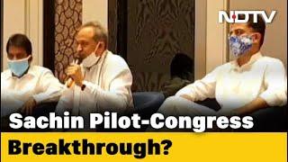Rajasthan Political Crisis: Congress Sources Claim 'Breakthrough' In Rajasthan, Team Pilot Denies