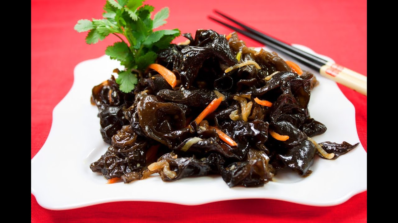 салат из сушеных грибов по корейски рецепты видео